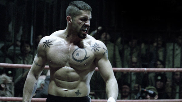 Boyka played by Scott Adkins