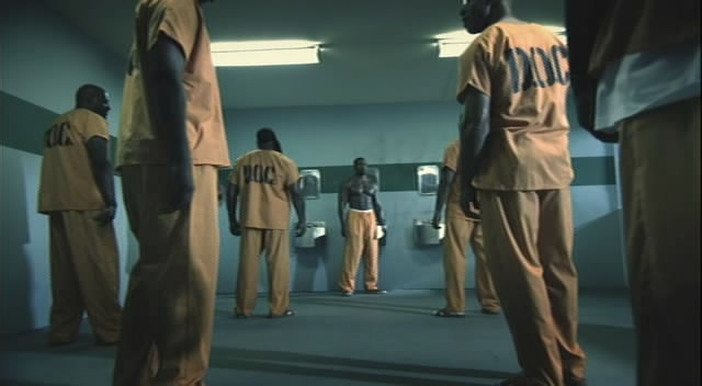 Bone takes on a gang of Prisoners