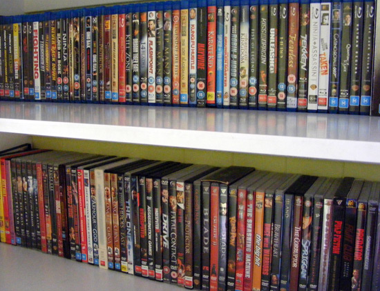 how to make a dvd movie collection