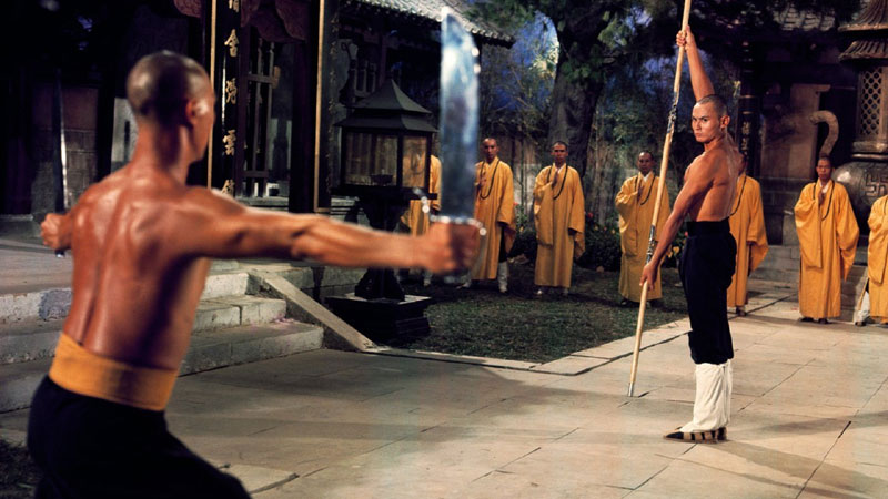 Fight scenes of 36th Chamber