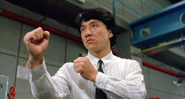 Jackie Chan in Dragons Forever