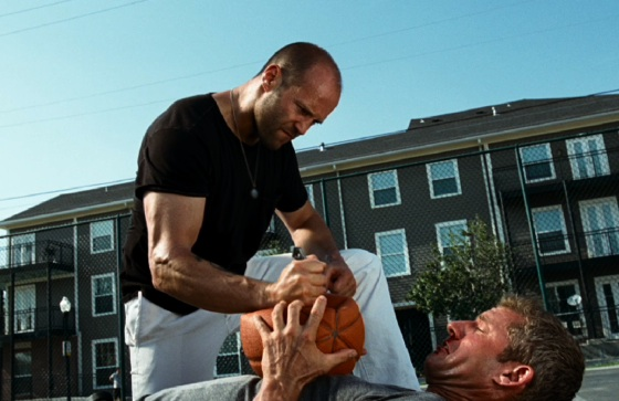 Jason Statham Basketball Court Fight Scene