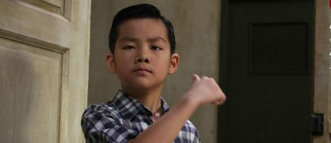 A Young Bruce Lee at the end of Ip Man 2