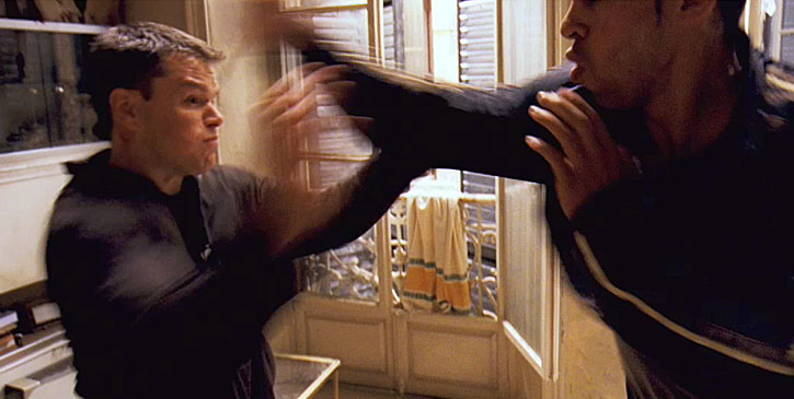 Bourne Identity Fight Scenes