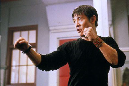 Jet Li shapes up in Kiss of the Dragon