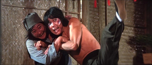 Yuen Biao and Samo Hung