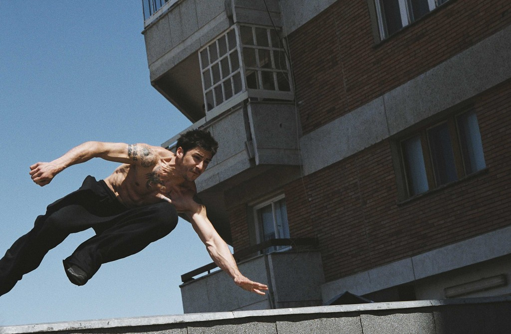 David Belle can move!