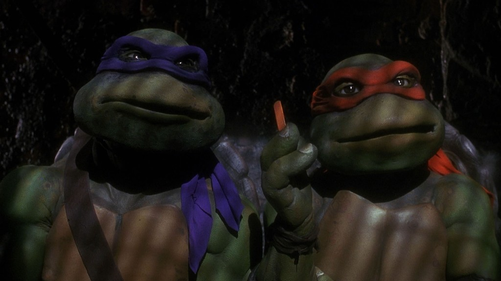 Donatello and Michaelangelo