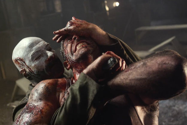 John's in trouble! Universal Soldier with Scott Adkins