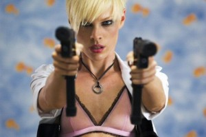 One crazy woman - Transporter 2
