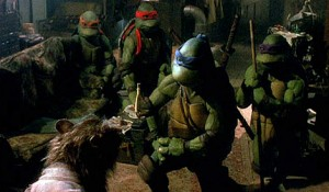 The Turtles and Splinter