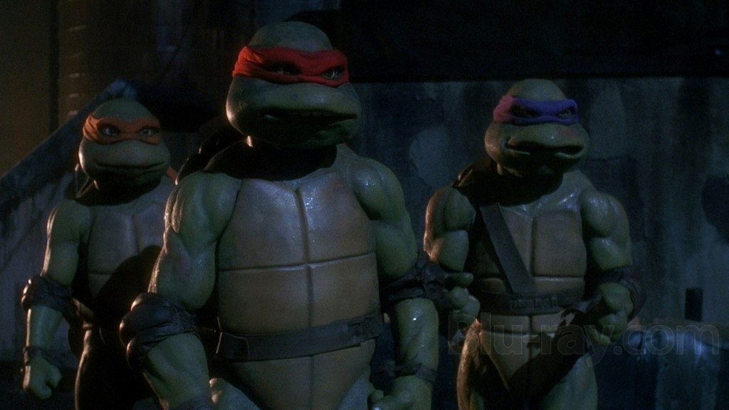 The Turtles face Shredder