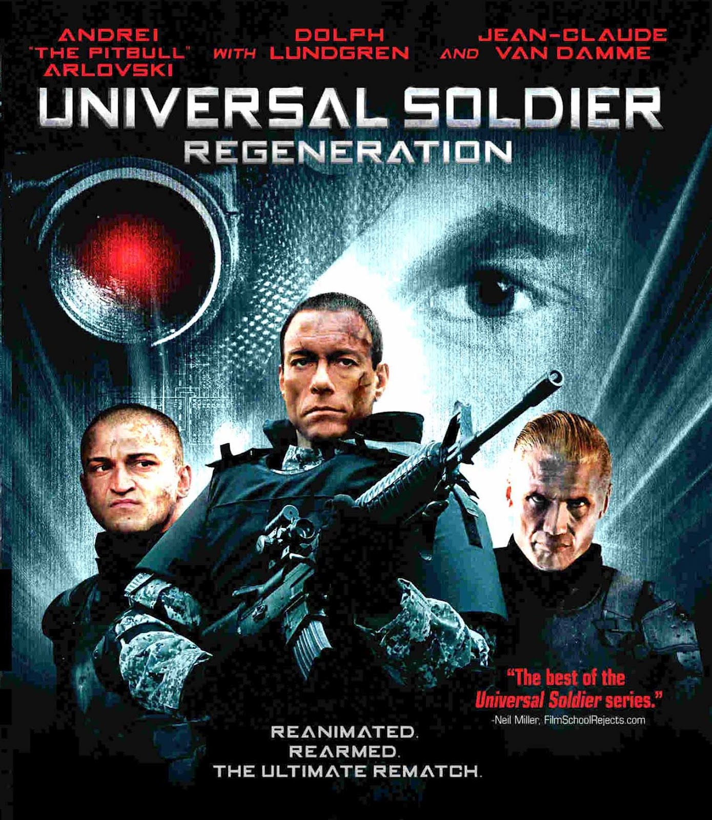 Universal Soldier: Regeneration with Van Damme, Dolph Lundgren and Andrei Arlovski