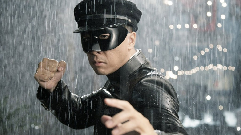 Chen Zhen in his 'Kato' Costume