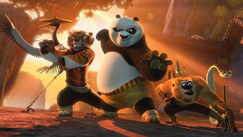 Po and The Furious Five
