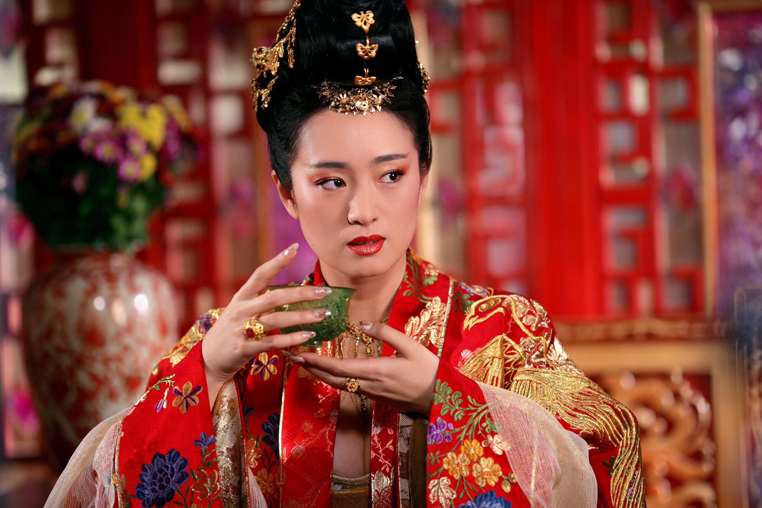 Curse of the golden flower with chow yun fat the empress gong li mightylinksfo