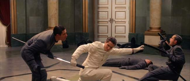 Christian Bale Fights
