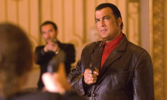 Seagal knows guns