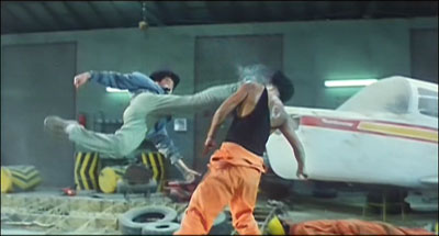 Yuen Biao in Action