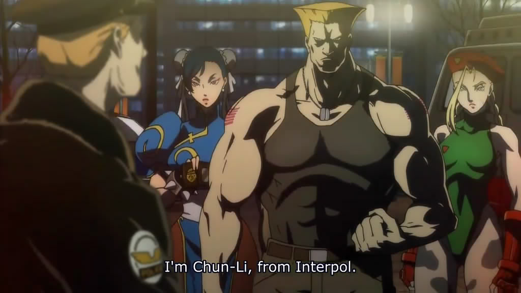 Chun Li, Guile and Cammy
