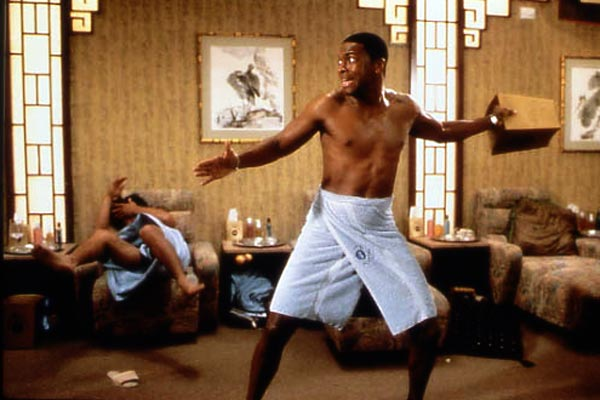 Chris Tucker shows off some moves!