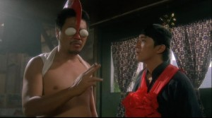 Stephen Chow with ang's Master