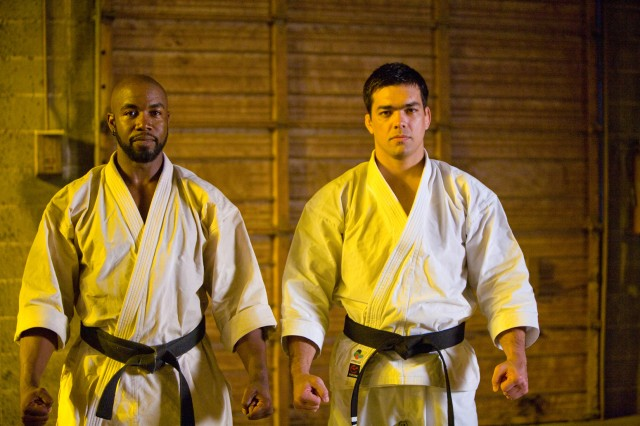 Michael Jai White and Lyoto Machida