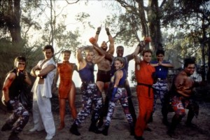 Van Damme and the Cast