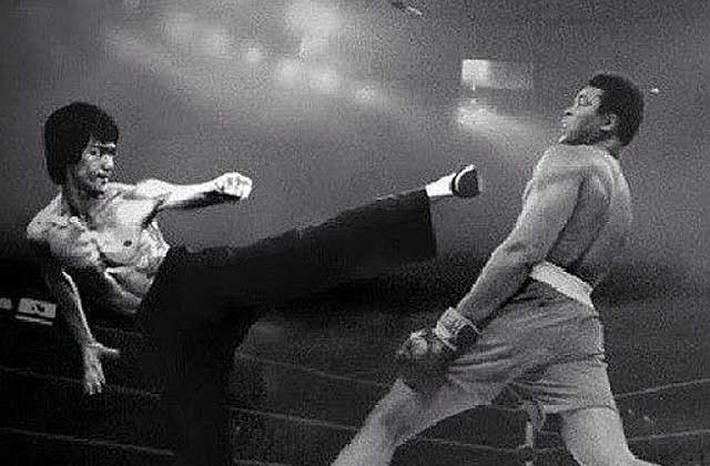 Bruce Lee vs Muhammad Ali