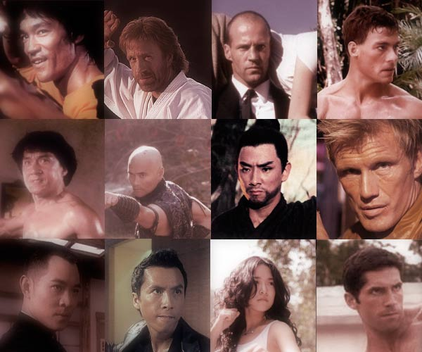 Top 100 Martial Arts Movie Stars and their Training Backgrounds (Updated!)