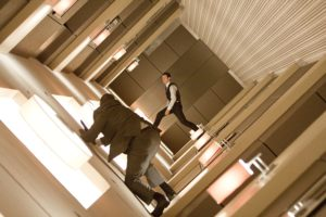 Inception Tumbling Hall Action Sequence