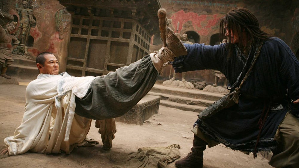 forbidden kingdom jet li vs jackie chan